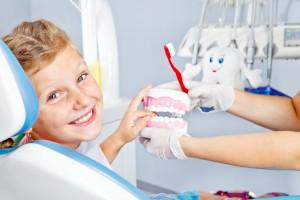 Endodontie Wurzelbehandlung Kind Zahnarzt München